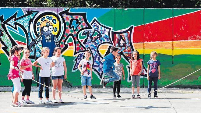 La guerra contra el sexismo en los patios llega a 150 colegios vascos