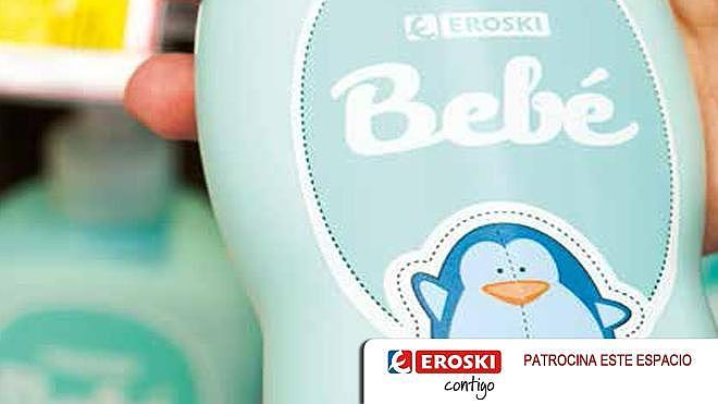 Eroski lanza una nueva gama de perfumería infantil especialmente diseñada para los más pequeños