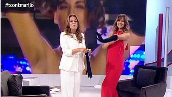 """Toñi Moreno, Mariló Montero y el """"TÉbola"""""""