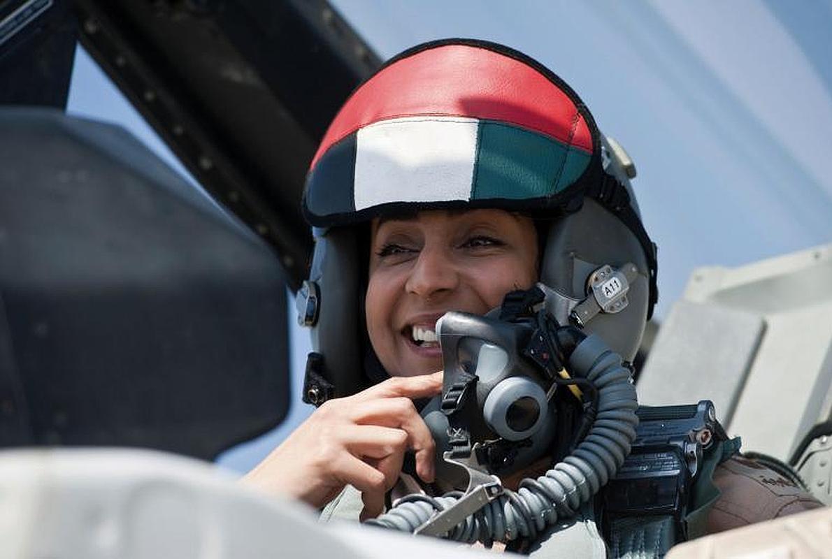 La heroína árabe que bombardea al Estado Islámico