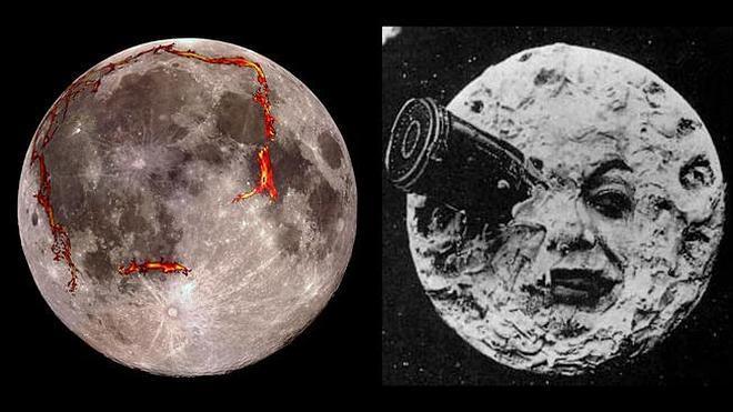 Descubren el origen del 'hombre de la Luna'