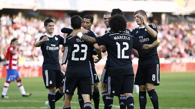 El Real Madrid arrasa al Granada
