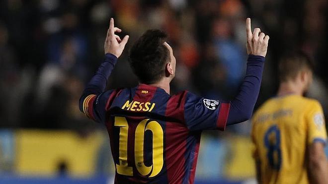 Messi, un futbolista de récord