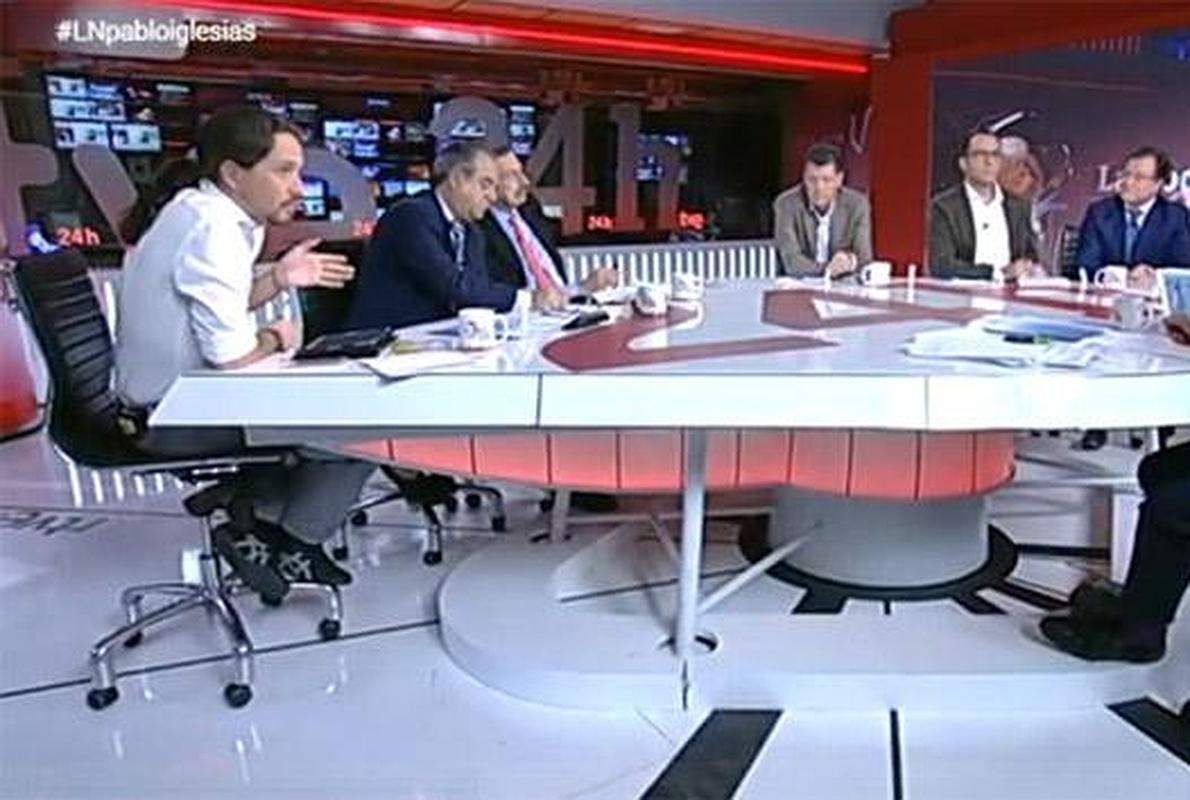 Guerra en TVE por la entrevista a Pablo Iglesias