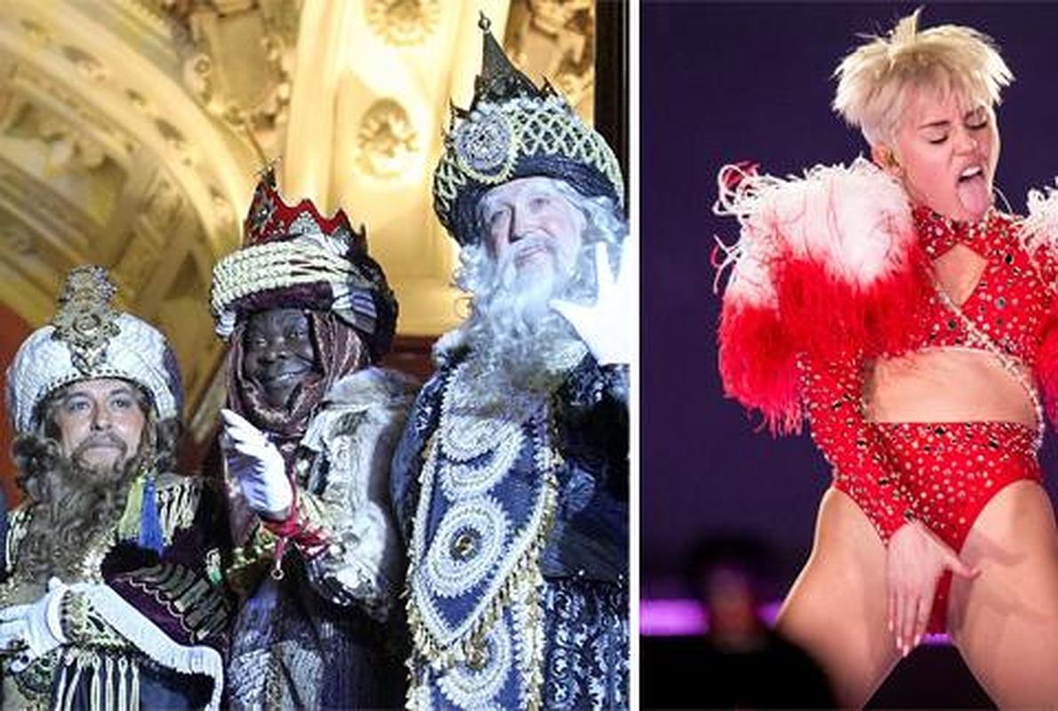¡Niños y niñas, cuidado con Melchor y Miley Cyrus!