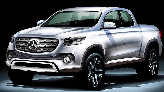 Vitoria, candidata a fabricar la Mercedes pick-up que planea lanzar la compañía alemana