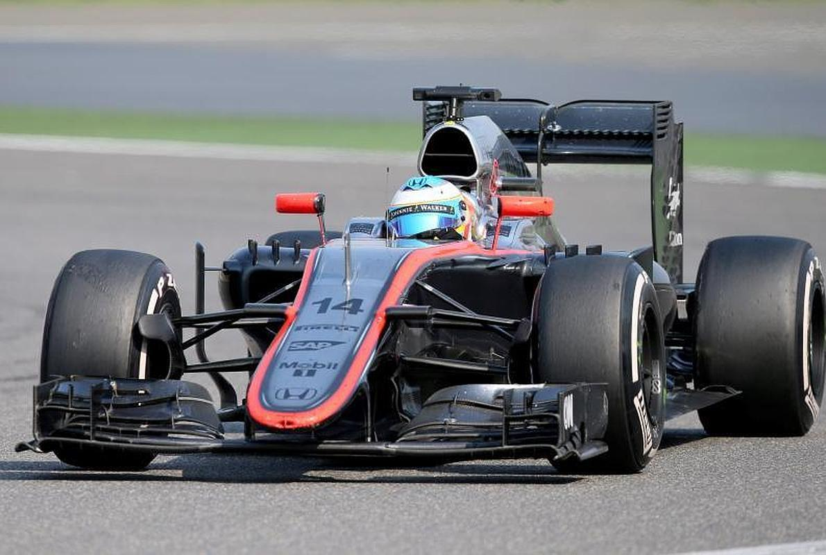 "Raikkonen: ""¡Vamos, quitad a ese McLaren del medio!"""