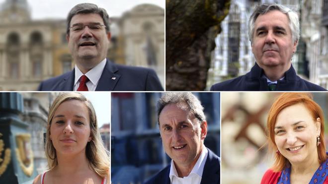 Envía tus preguntas a los principales candidatos a la Alcaldía de Bilbao