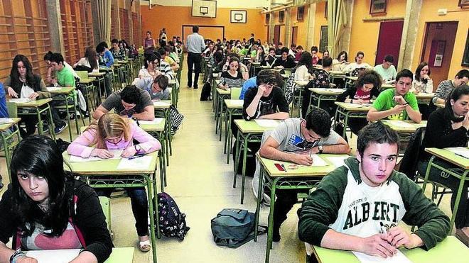 110 mirandeses concurren Selectividad, el 48% de los inscritos en 2º de Bachillerato