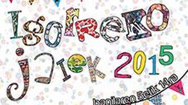 Programa de fiestas de Igorre: Andra Mari 2015