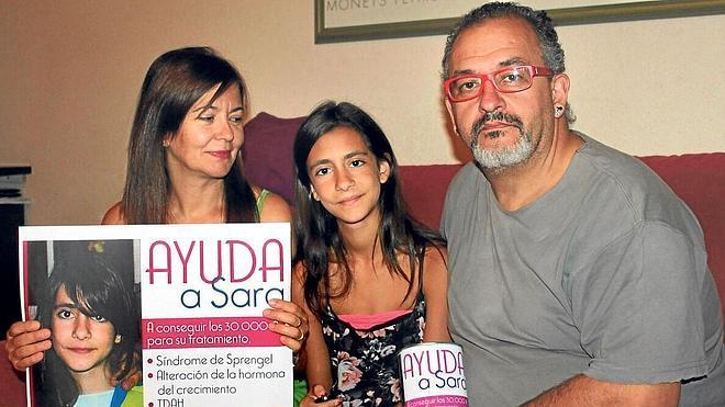 Barakaldo se solidariza con Sara Gato, una niña zamorana con síndrome de Sprengel