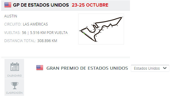 Calendario F1 2020 Horarios.Gp F1 Eeuu 2015 Directo Horarios Y Clasificaciones De