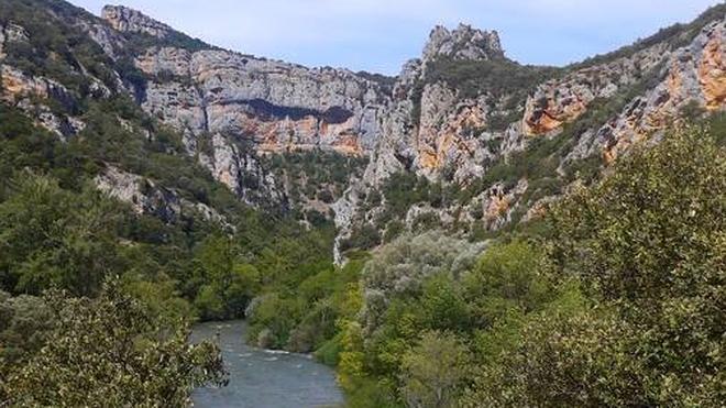 Los Tornos: La orilla burgalesa de los cañones del Ebro