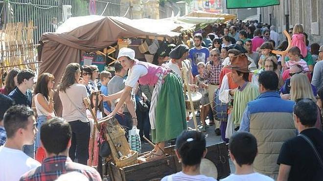 Feria medieval en Atxuri y Jamming en el Campos