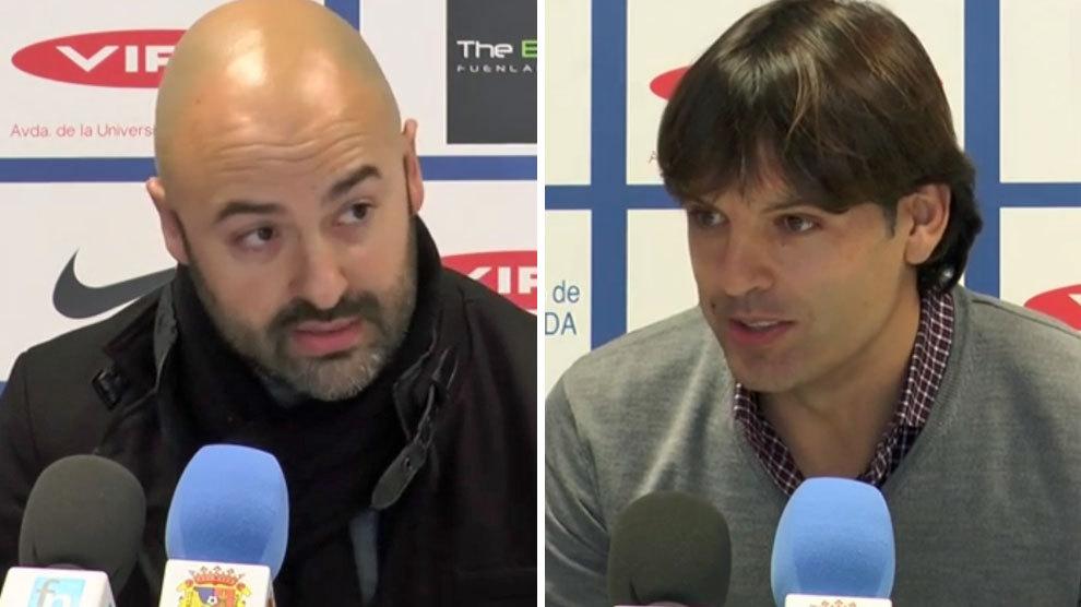 El técnico del Barakaldo estalla contra Morientes: «Le regalarán un banquillo en Primera»
