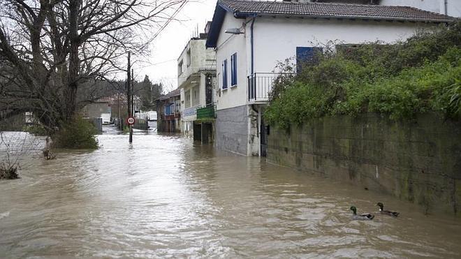 El récord de lluvia en Bizkaia en este temporal: 180,2 litros en seis días en Mañaria