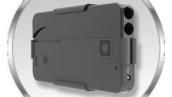 Una pistola con forma de smartphone saldrá pronto al mercado estadounidense