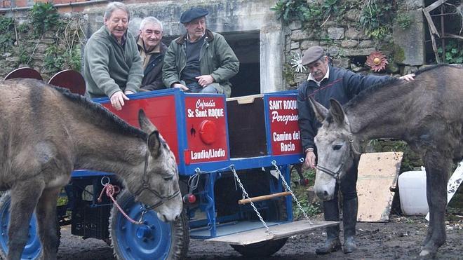 Animalistas denuncian el intento de cuatro alaveses de recorrer mil kilómetros en mula hasta Huelva