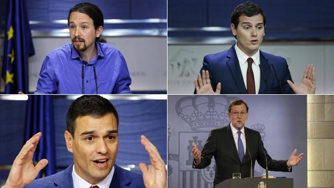 Políticos bajo la lupa mediática