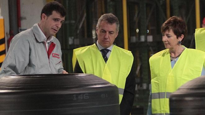La planta de Bridgestone en Basauri lanza una nueva línea de neumáticos 'low cost'