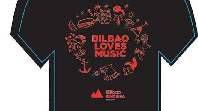 Gratis la camiseta del Bilbao BBK Live con el bono del festival