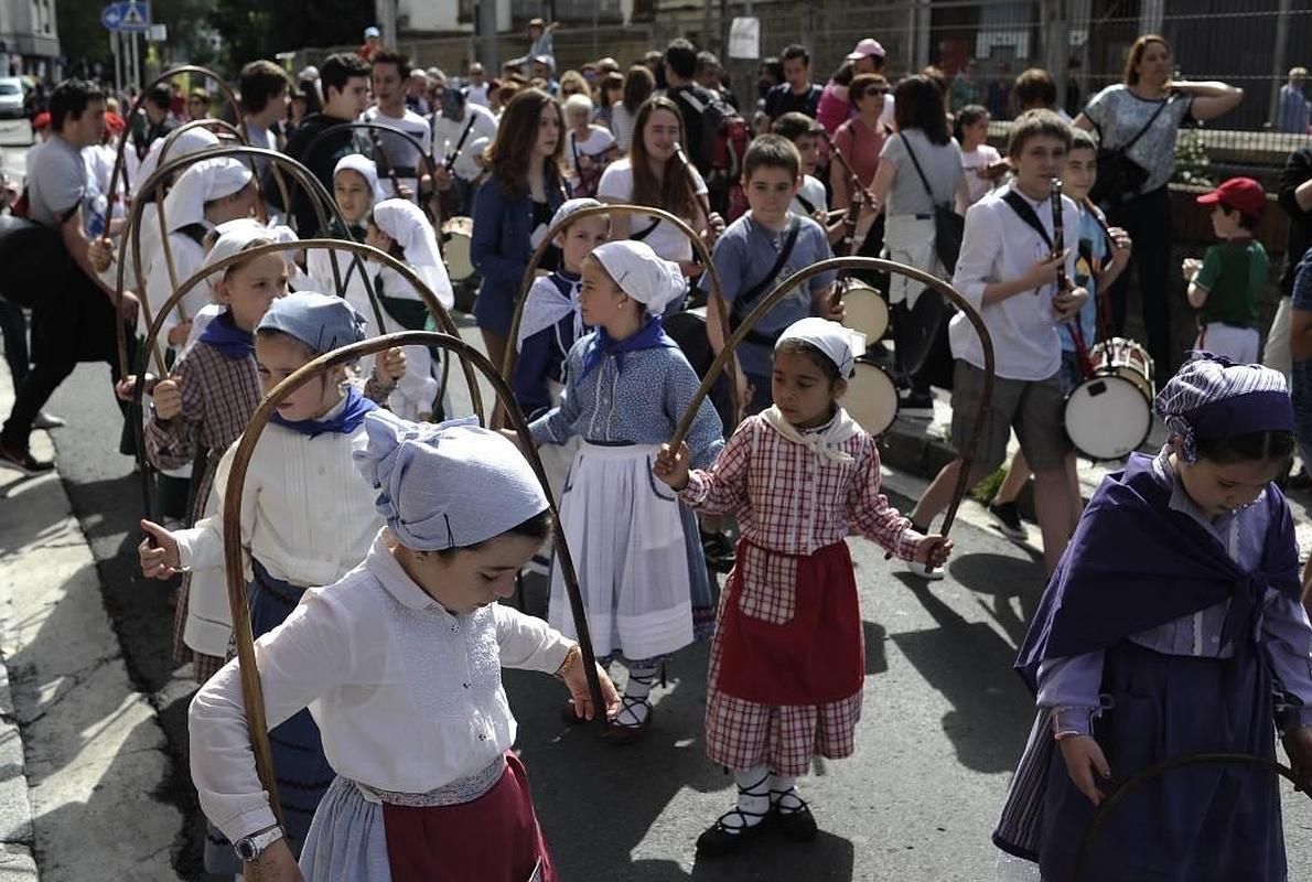 El Ibilaldia clama en Durango por el fomento del euskara y por una ley vasca de educación