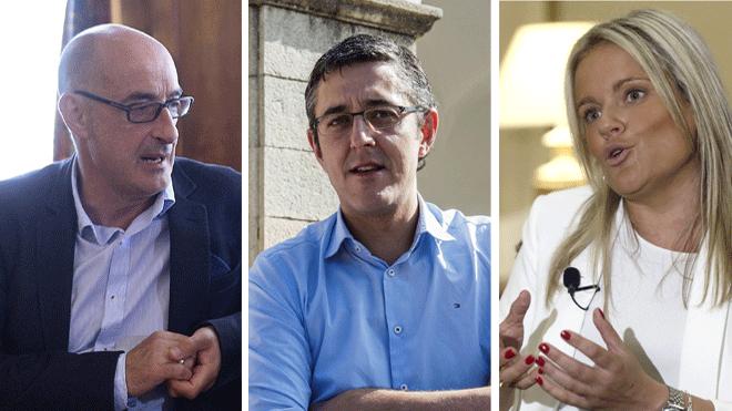 'Felisuco', Eduardo Madina y Mari Mar Blanco logran escaño