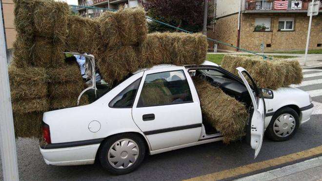 El coche que más 'farda' en Elorrio
