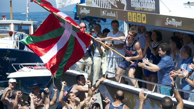 Urdaibai gana de nuevo en Zarautz y se coloca a un punto de Hondarribia