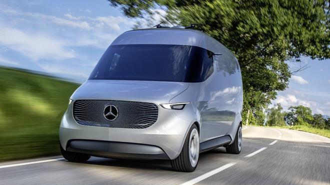 El nuevo concepto de furgoneta de reparto que concibe Mercedes-Benz