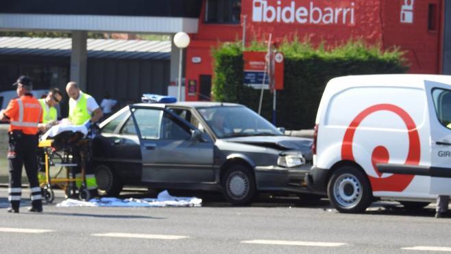 Dos heridos en un choque en La Avanzada