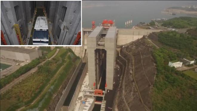 China construye el mayor ascensor para barcos del mundo