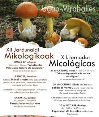 Ruta de pintxos micológicos en Ugao