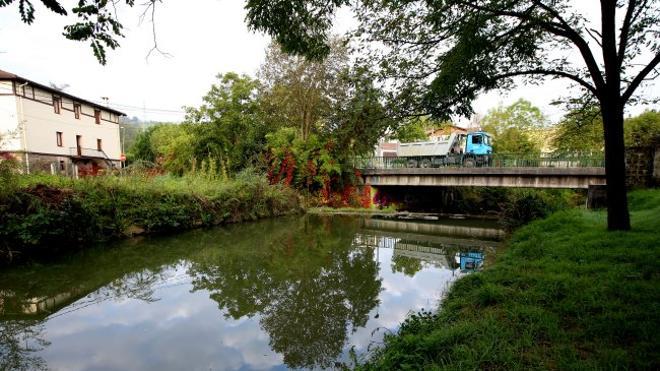 El encauzamiento del Asua reducirá inundaciones en Sondika