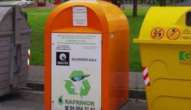 El Gobierno vasco anula el contrato comarcal de recogida de aceite