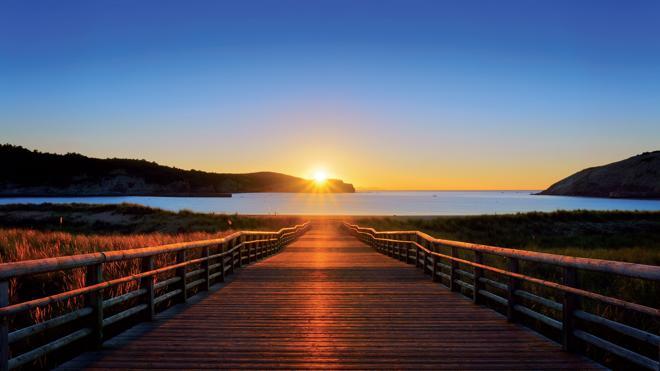 Gorliz, una playa de postal
