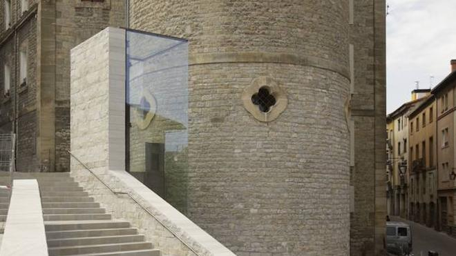 Gasteiz Txiki denuncia un nuevo «sabotaje» en el ascensor de la calle Correría, en Vitoria