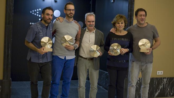 Borja Barrueta, premio al mejor instrumentista
