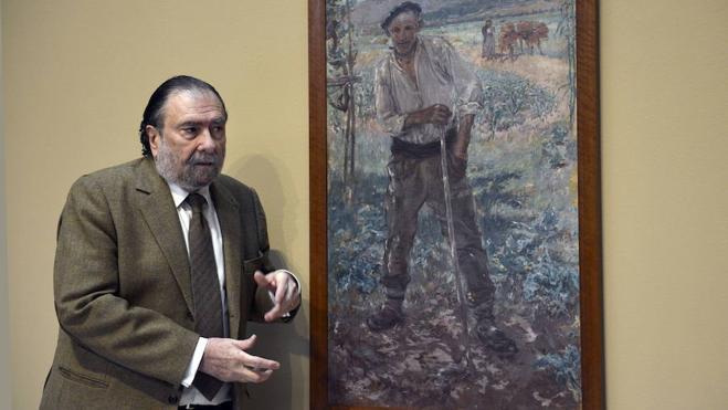 Javier Viar, satisfecho de dejar en buena situación al Bellas Artes