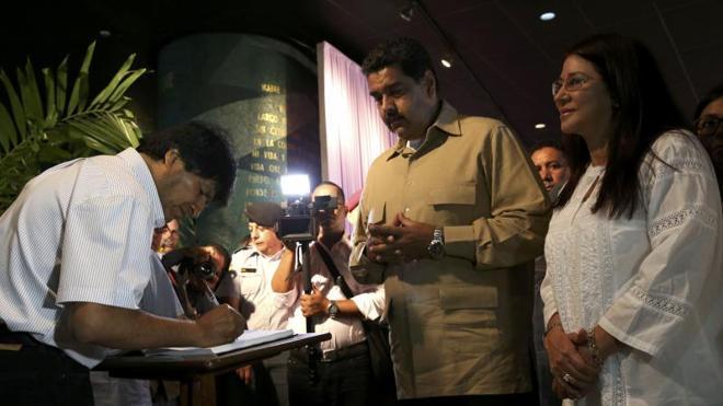 Las mejores 'perlas' de Maduro y otros líderes para alabar a Fidel