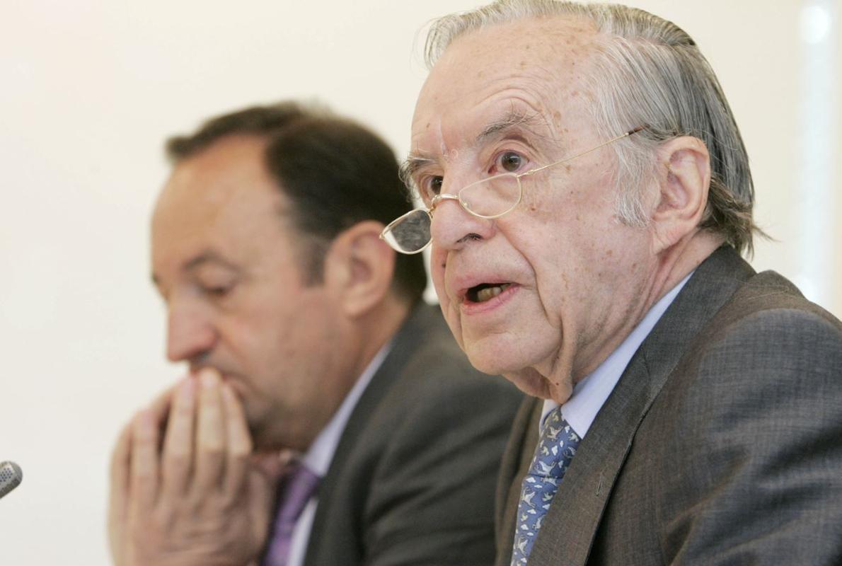 Muere José Ángel Sánchez Asiaín, expresidente del Banco Bilbao Vizcaya