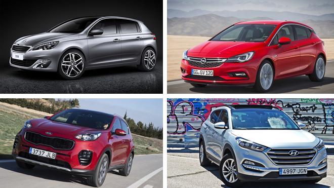 Los coches 'preferidos' de los vascos en 2016