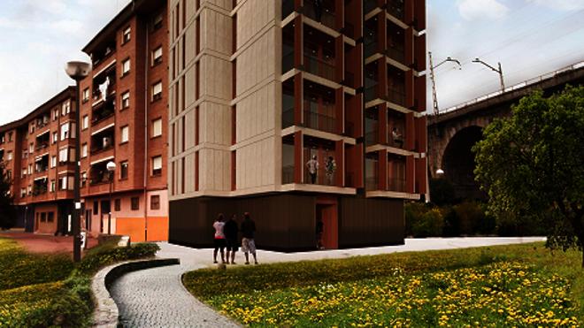 La promoción de viviendas protegidas de Ugao sale a la venta