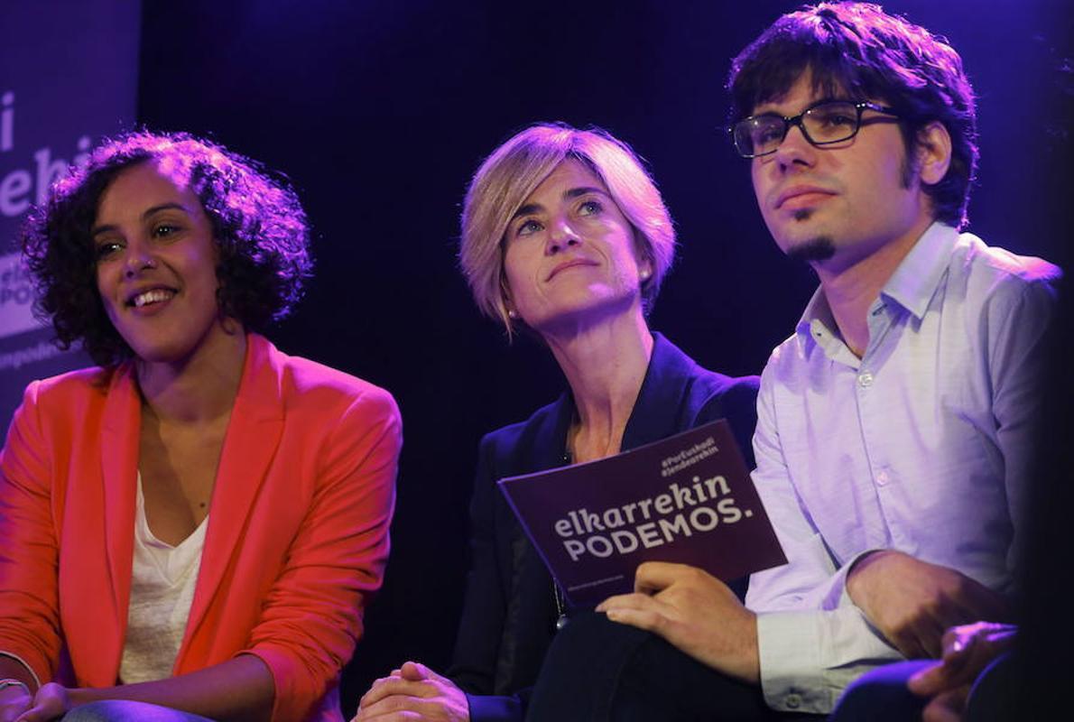 La división también se hace patente en Podemos Euskadi