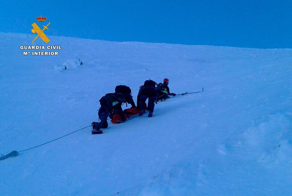 Rescatado el cuerpo del esquiador fallecido en Valdezcaray