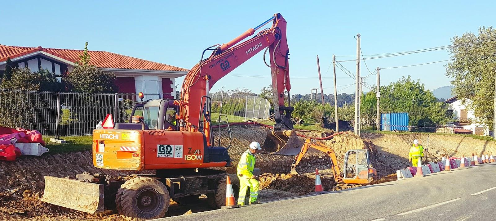 Loiu gasta 100.000 euros en mejorar la accesibilidad en Iberre y construir una parada de bus
