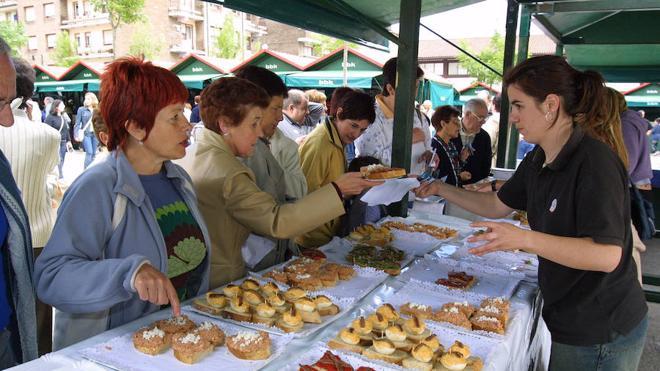 Lea Artibai saboreará pinchos y conservas en la primera feria de la temporada en Berrriatua
