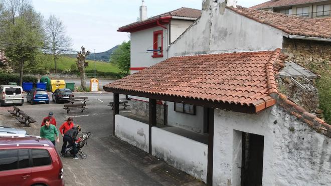 Busturia habilitará un refugio para el ocio junto a la ermita de San Cristóbal