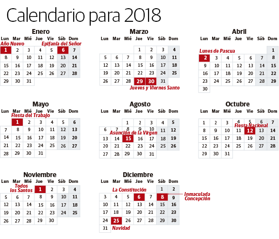 Calendario Festivo.Calendario Laboral 2018 Festivos Y Puentes En Euskadi El
