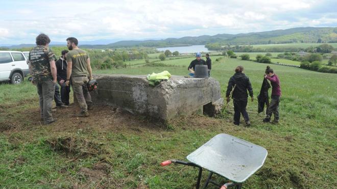 Arqueólogos de la UPV excavarán dos búnkeres de la Guerra Civil en Álava